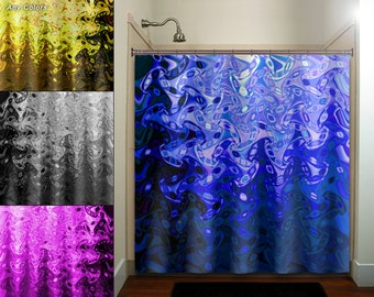 Eggplant Purple Violet Aubergine Shower Curtain By