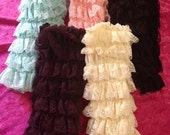 Shop clearance! Set of 5 lace legwarmers !!