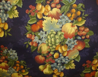 The world most beautiful fresh fruits for home Decorating Fabric / heavy cotton water resistant fabric