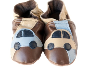 Autobahn (baby shoes in all-leather)