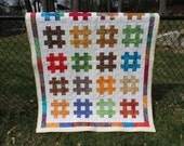 The Hashtag quilt