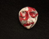 Goddess Face Cabochon Patterned Polymer Face Cab Beading Focal Doll Face