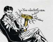 Tesla! You Electrify Me