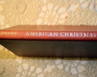 American Christmas, Poetry, Hallmark, 1960s, Christmas Poems, Holidays, Christmas, American Poets, Hardback, Red, FREE US Shipping