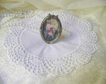 Crochet Doily, Lace, Centerpiece, Table topper, Hand Crochet, White, Wedding Decor, Victorian, Lacy