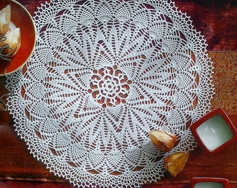 Crocheted Doily - Shining