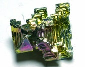 Bismuth Crystal - Wizard of OZ Castle - Amazing piece Ready To Set - Rainbow