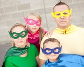 30 Pack Super Hero Masks - Choose from 8 colors - BEST Selling Super Hero Party Favor Masks - Fits adults and children