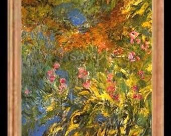 Monet Miniature Dollhouse Art Picture 6024