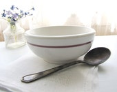 Vintage Wallace Restaurant Ware Small Bowl Hotel Ware Berry Bowl 1940's China Bowl from AllieEtCie