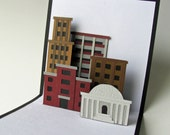 Cityscape Pop-up Card