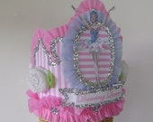Ballerina Ballet Birthday  Crown  Hat  Adult or Child- Dancing Queen or customize with any saying
