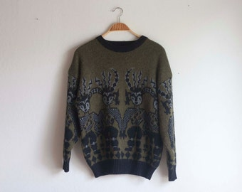 Funky Tribal Oversized Sweater