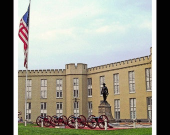 Lexington Virginia - VMI - Stonewall Jackson -Fine Art Photography print by Dave Lynch - Free Shipping on any additional items