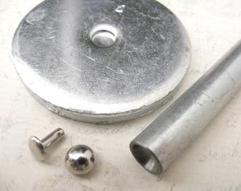 7mm double cap DOME Rivet setter tool