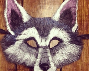 Nymeria wolf mask, game of thrones costume, dire wolf mask, nymeria of dorne, arya stark, direwolf mask, direwolf costume, wolf mask,
