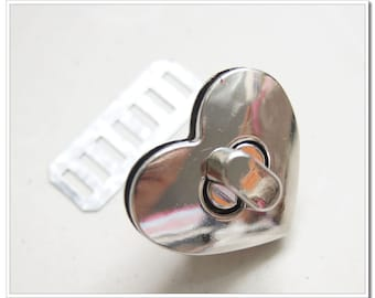32mm x 28mm nickel  twist-locks Purse Flip Locks puse locks