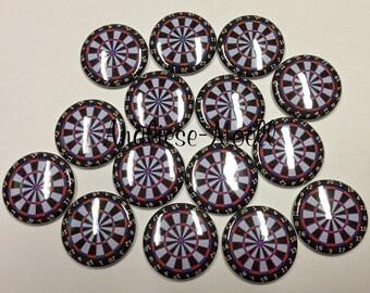 "Dart 1"" Buttons Flatback (15 Buttons) Sale for this listing only, Dart Buttons, Dart Flatbacks, Darts, Dart Decoration, Dart Board, Dart"
