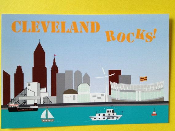Cleveland Mini print