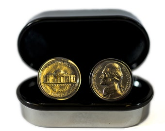 63rd Birthday Gift - 1954 Coin Cufflinks -Perfect gift from 1954 - Presentation box included - 100% satisfaction
