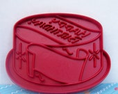 Vintage Tupperware Birthday Cake Cookie Cutter