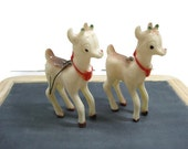 Rudolph The Red Nose Reindeer Christmas Ornament - Set of 2