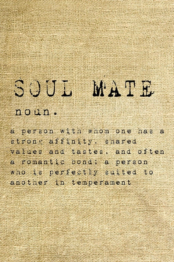 soulmate definationer