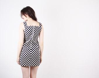 1960s Polka Dot Mod Dress  - Vintage Polka Dot Dress  - 60s Mod Dresses - The Dottie Dress  - 5242