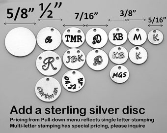 For tyrahandmadejewelry Jewelry buyer ONLY,will not be sold separately,Add  STERLING SILVER initial letter charm