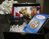 Wooden Keepsake Box for invitations or cards.