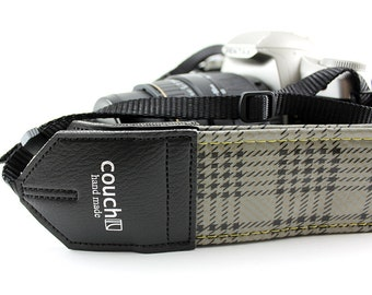 Mustang Trunk Liner Camera Strap - Upcycled from guitar straps - eco vegan friendly