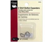 Dritz Shirt Button Expanders Extenders  Sewing Clothing Garment  Altering Alterations Repair