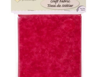 """Precut Fabric Palette Fabric Editions Textured Cotton 42"""" x 1/2 yard Sewing Quilting Crafts Red"""