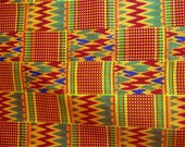 Kente, and African print Fat Quarters ready to ship!