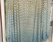 Ombre Chic Hand Dyed Crochet Tunic