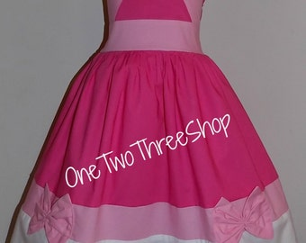Cinderella Pink Dress Custom Boutique Clothing  Inspired  Sassy Girl