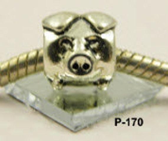 Pig, Miss Piggy - European Big Hole Charm