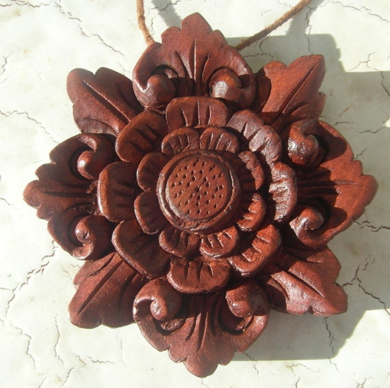 2013 limited Bali Flower ornament Sumerta Designs holiday, festive, Christmas