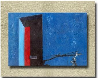 Azul - Fine Art Print on heavy Cotton Canvas - unframed