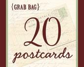 Grab Bag - 20 Postcards