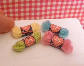 Miniature Dollhouse Yarn Set