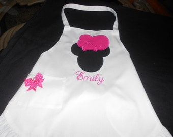 Personalized Mickey  Apron