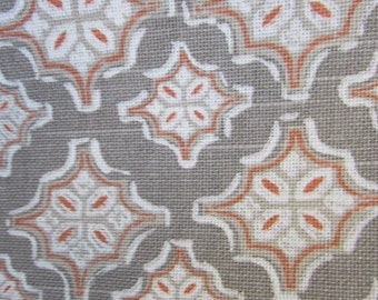 TREVI APRICOT  designer, decorator/drapery/bedding/upholstery ikat fabric