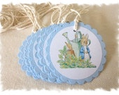 PETER RABBIT Favor Tags - 2 Dozen - Image Only with Customization Available