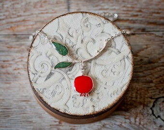 Necklace - Pomegranate Branch