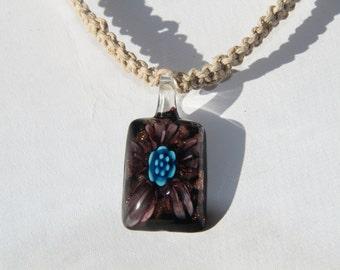 Hemp Pendant Necklace