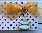 Wedding Congrats, Bridal Shower card-Wedding Cake