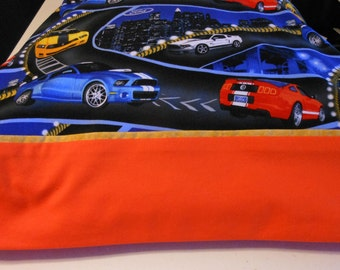 Pillowcase Ford Cars Standard Size