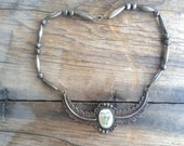 Vintage Narive American silver necklace