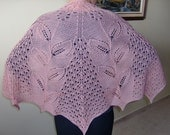 In Spring Shawl, Half Circle (shl166)